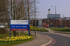 NHS hospital sussex and surrey