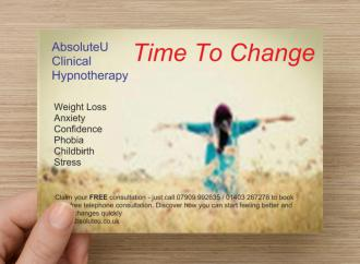hypnotherapy to become the new you