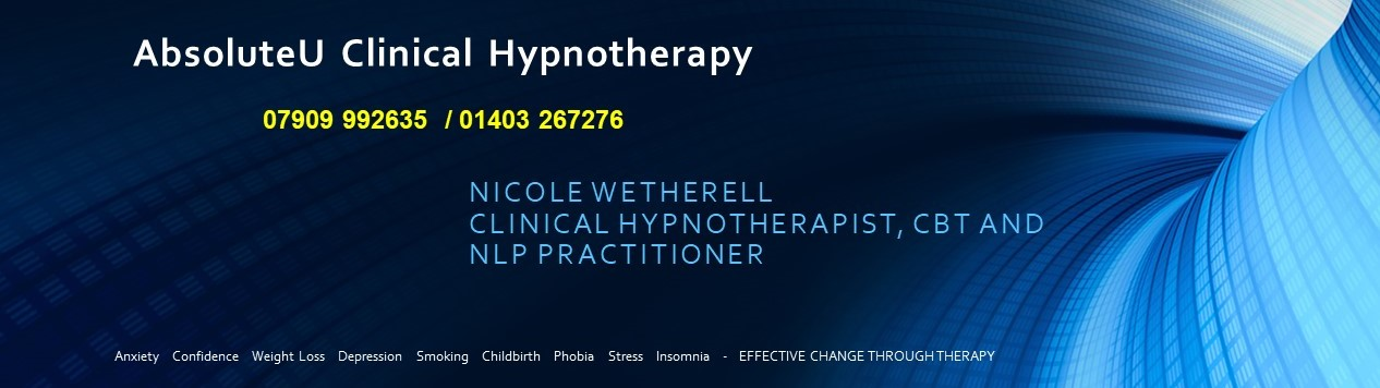 Hypnotherapy in Horsham, Crawley, Sussex and Surrey with AbsoluteU