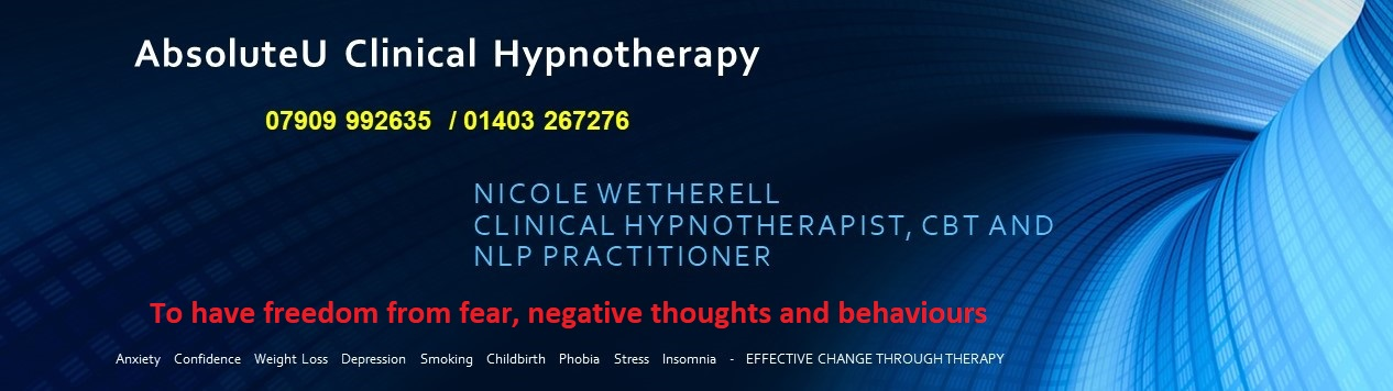 Hypnotherapy in Horsham, Sussex and Surrey with AbsoluteU